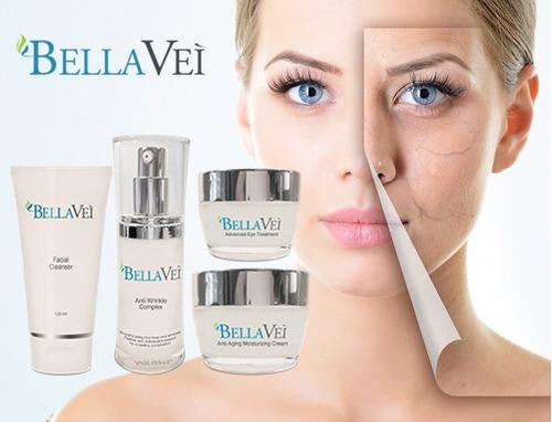 paquete de cremas bellavei - producto original