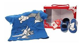 Cuna Puma Paquete Tom Infanttoddl De Infantil Zapato Y Jerry kiuOPXZ