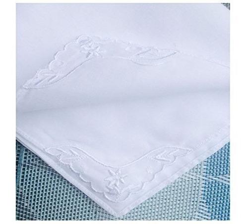 paquete de encaje de algodón de los pañuelos de las mujere