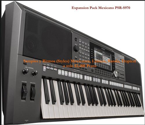 paquete de expansión para yamaha psr-s970