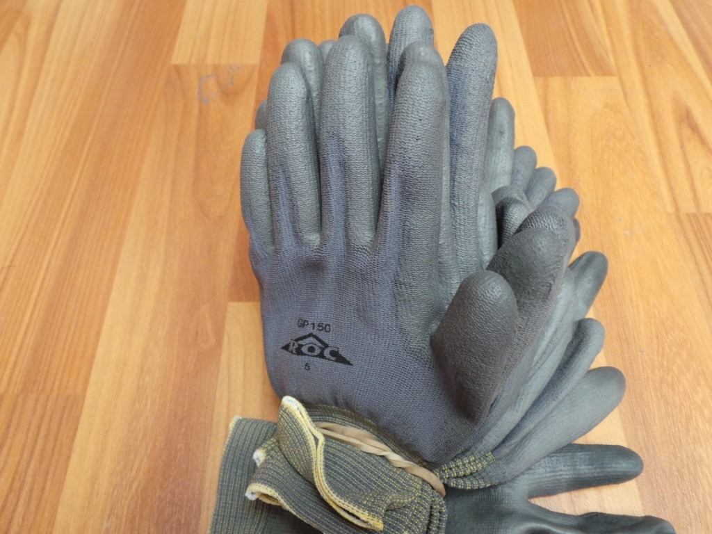Paquete de guantes industriales jardiner a talla 5 - Guantes jardineria ...