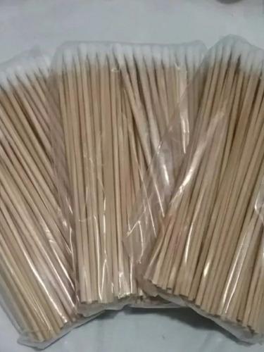 paquete de hisopos 15cm largo con 1000pzas
