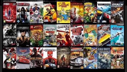 paquete de juegos para psp digitales