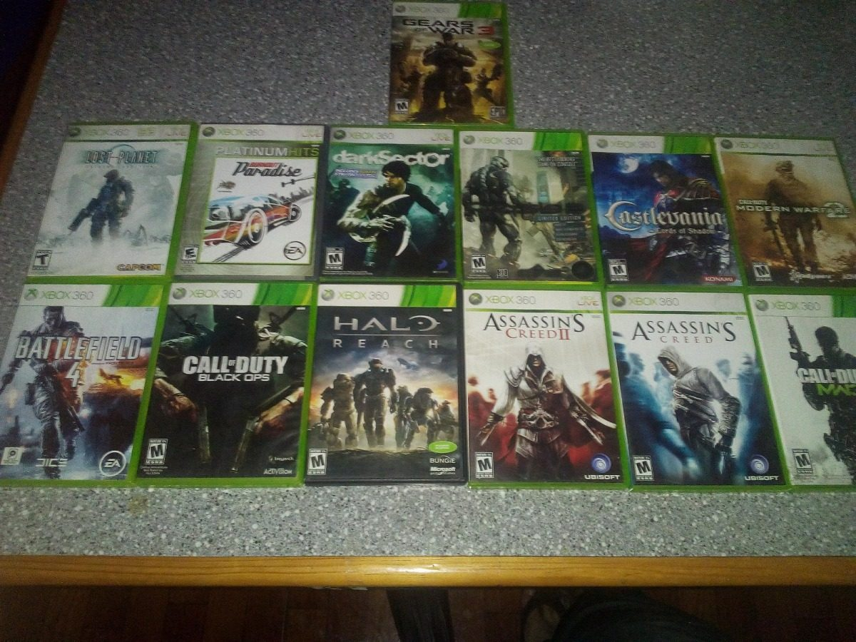 Paquete De Juegos Xbox 360 Usados Aprovecha Originales