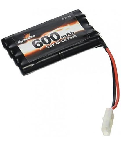 paquete de juguete de batería dynamite 9.6v 8 células 600