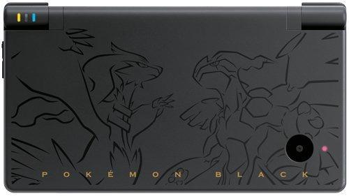 paquete de la versión negra de pokemon - nintendo dsi