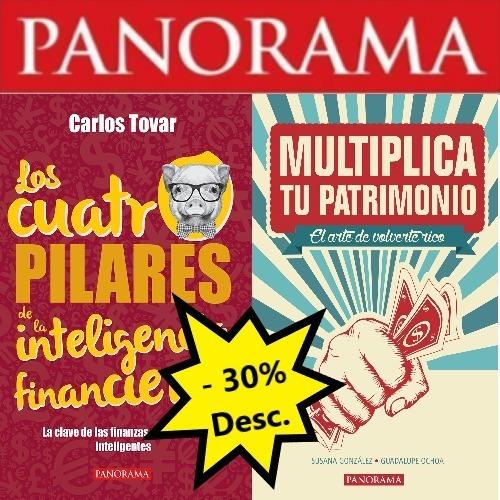 paquete de libros finanzas  - 30% desc.