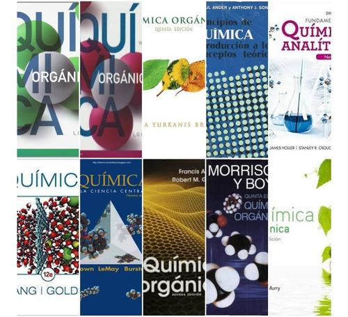 paquete de libros (matemáticas, física y quimica) digitales