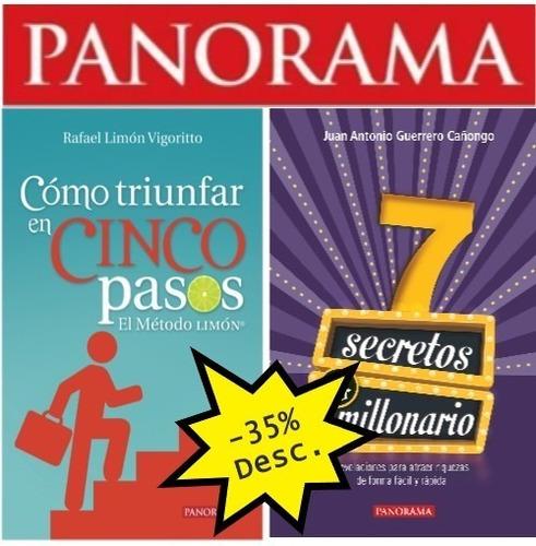 paquete de libros superación personal  -35% desc.