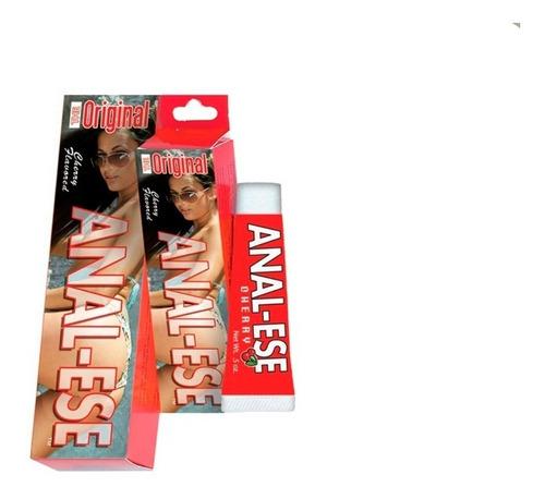 paquete de lubricante anal ese y aceite para masaje sxo