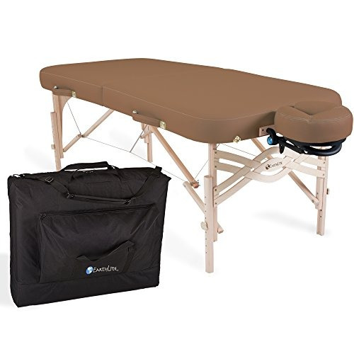 paquete de mesa de masaje portatil de earthlite premium spir