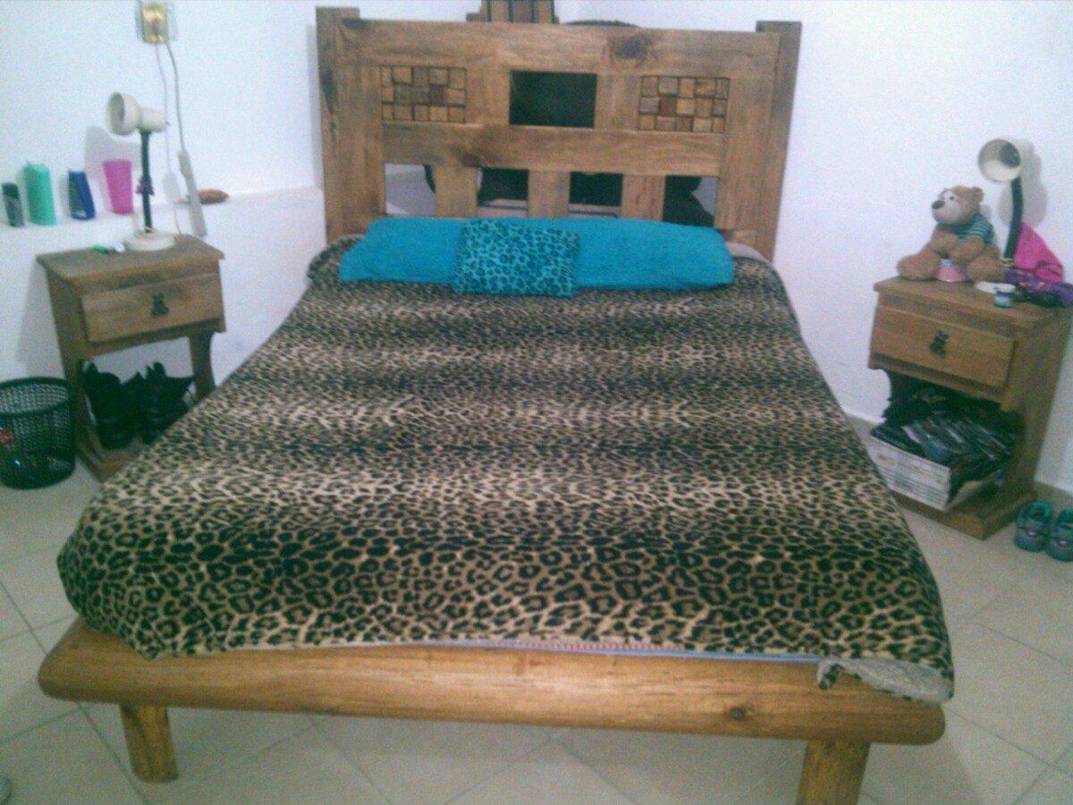 Paquete de muebles rusticos 6 en mercado libre for Muebles rusticos