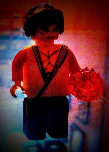 paquete de muñecos tipo lego y de hello