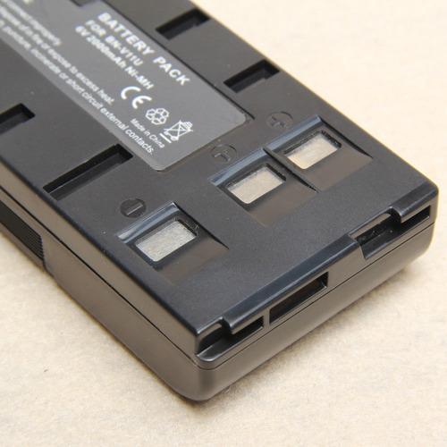 paquete de pilas para bn-v11u bn-v12u v25u bn-v18u jvc gr-sx