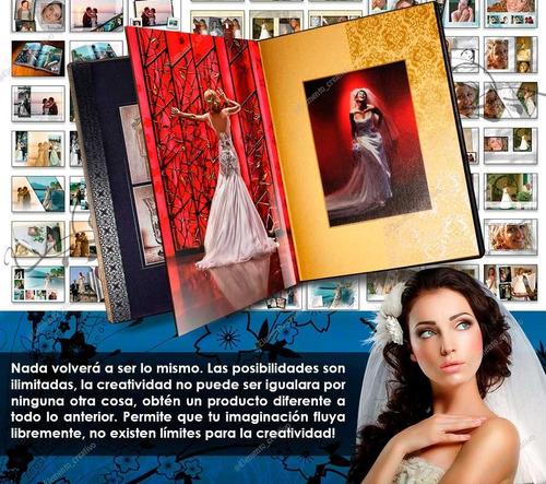 paquete de plantillas fotograficas para boda, +500 diseños