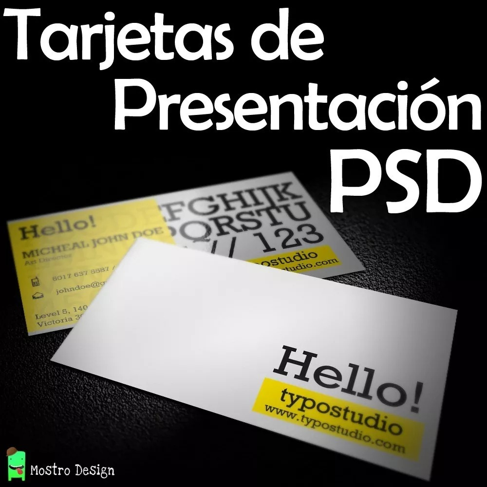 Paquete De Plantillas Para Tarjetas De Presentación Diseño - $ 49.00 ...