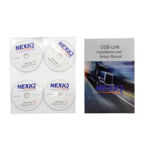 paquete de programas para nexiq 1 & nexiq 2 son 4 dvds