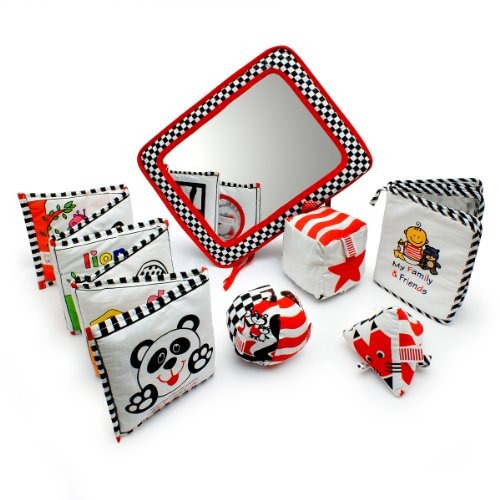 paquete de regalo de juguetes de desarrollo infantil: negro,