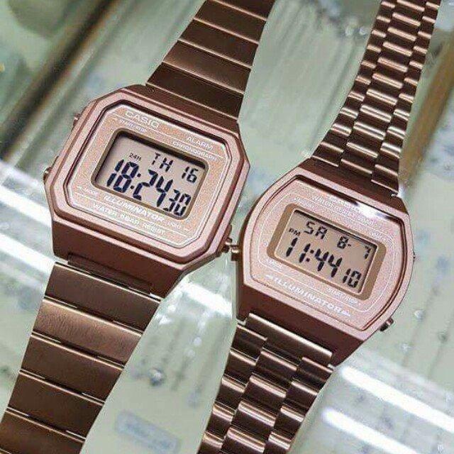e4fcc02d1da1 Paquete De Relojes Casio B640 Y B650 Bronce -   3