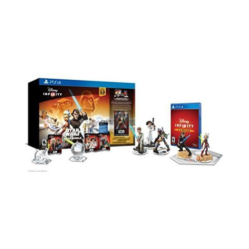 paquete de saga de star wars disney infinity 3.0 (ps4)