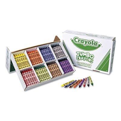 Paquete De Salón Crayola Jumbo-sized Crayons - Juego De 200 ...