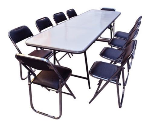 paquete de sillas y mesas plegables para eventos negocio