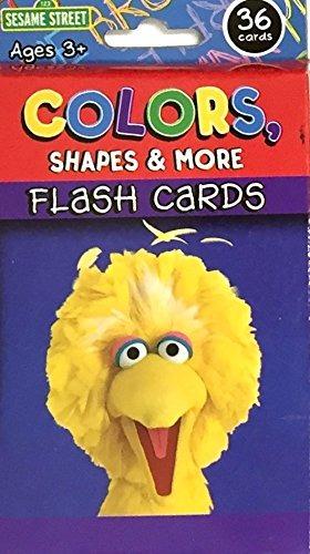 Paquete De Tarjetas Didácticas Didácticas De Sesame Street L