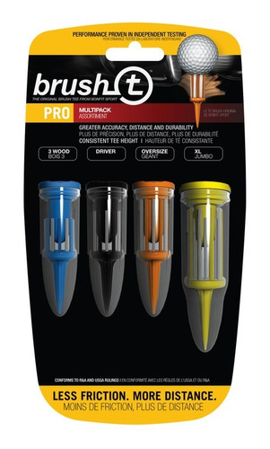 paquete de teesx 3 tees oversize brush t