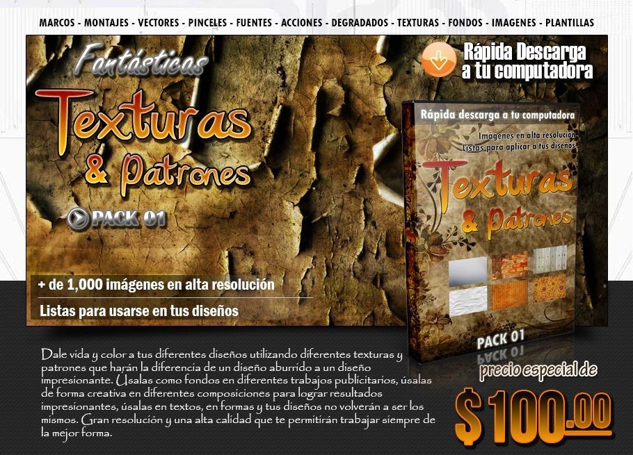 30ff2f06d Paquete De Texturas Y Patrones 01 Para Diseño Digital