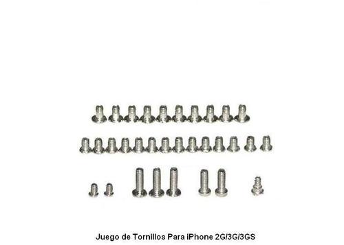 paquete de tornillos para iphone 2g/3g/3gs