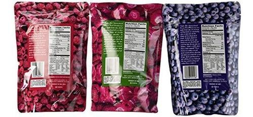 paquete de variedades de frutas secas congeladas trader