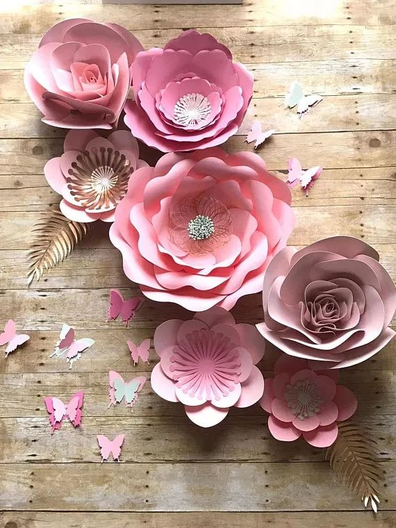 flores gigantes de papel moldes flores gigantes de papel molde
