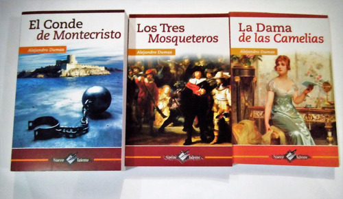 paquete dumas conde montecristo 3 mosqueteros dama camelias