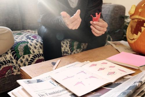 paquete económico especial de papel de origami de dobl...