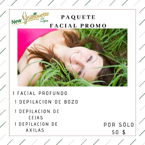 paquete facial promo.
