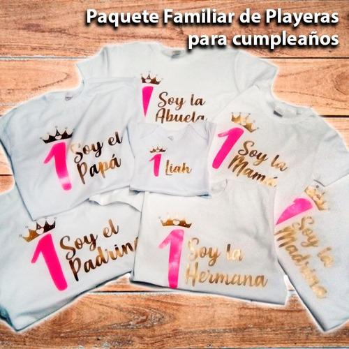 paquete familiar prendas personalizadas especial enviogratis