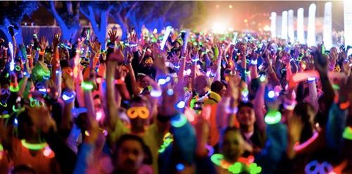 Paquete Fiesta Articulos Luz Led Y Neon Boda Xva 241 Os Antro