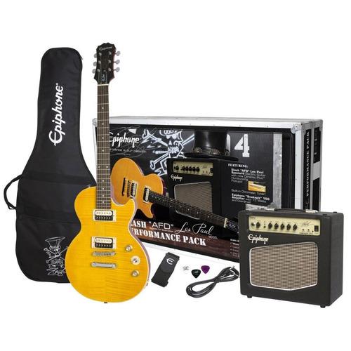 paquete guitarra eléctrica epiphone les paul afd slash