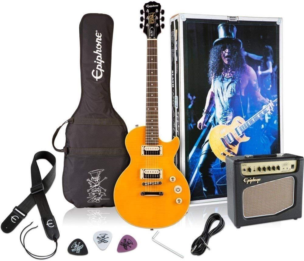 Paquete Guitarra Eléctrica Epiphone Les Paul Afd Slash -   8 c19230ec8e2