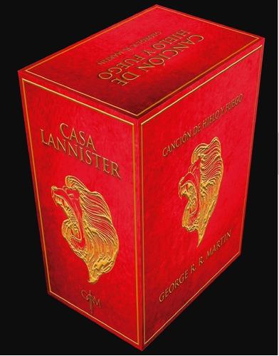 paquete juego de tronos edición especial lannister