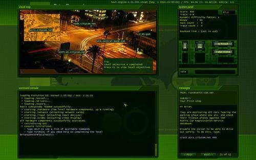 paquete juegos hacker evolution - pc steam