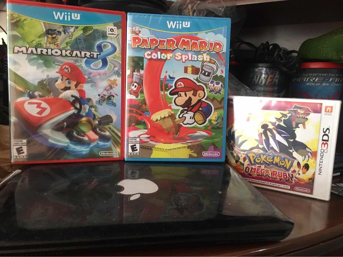 Paquete Juegos Nintendo Nuevos Y Sellados 1 200 00 En Mercado Libre