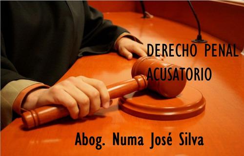 paquete jurídico sobre el derecho penal acusatorio