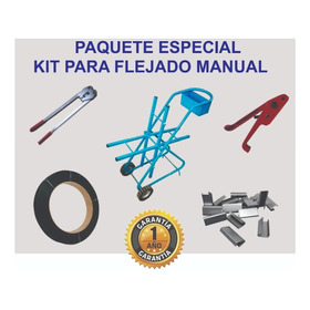 Paquete Kit Para Flejado Manual