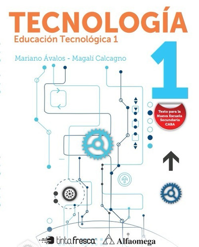 paquete libros tecnología 1 y 2 mariano ávalos m. calcagno