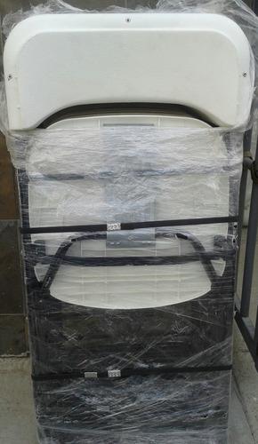 paquete mesa tipo lifetime 14 silla plegable plastica blanca