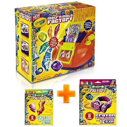 Paquete N Molde De Fábrica Crayola Melt\'(3 En 1) | Haga Sus ...