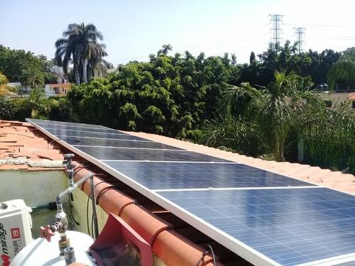 paquete para casa solar de 600 kwh bimestrales de generacion