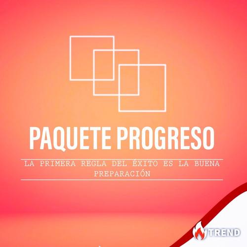 paquete progreso