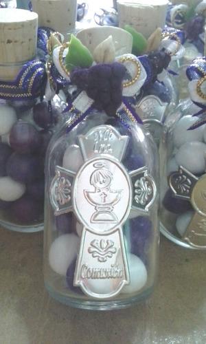 paquete recuerdito 10 botellitas con dulces confitados